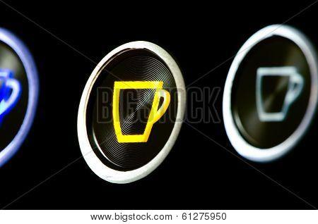 Coffeemaker Buttons