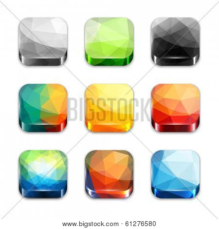 Colorful  icons collection -  raster version
