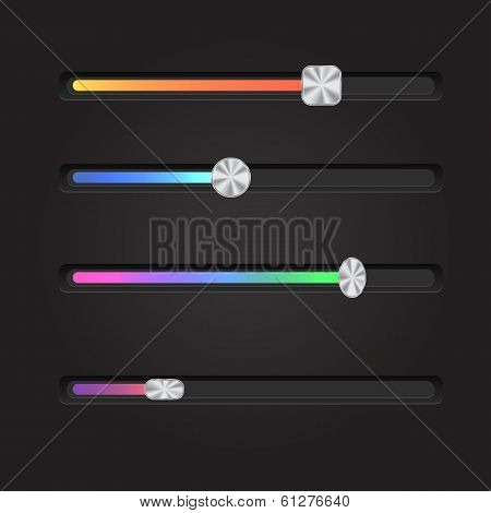 Web User Interface Set - Sliders