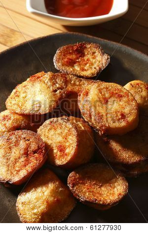Aloo Tikki or Potato Cutlets from India