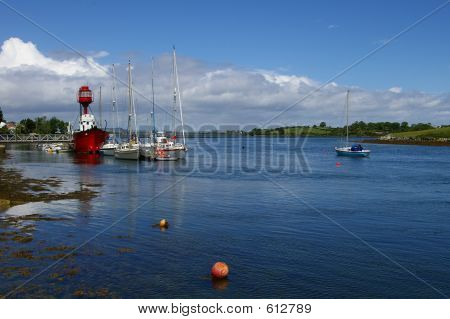 Lightship On Strangford Lough