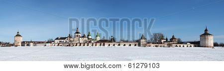 Cyril-Belozersky monastery. Vologda region. Russia