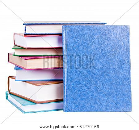 Books Heap Isolated