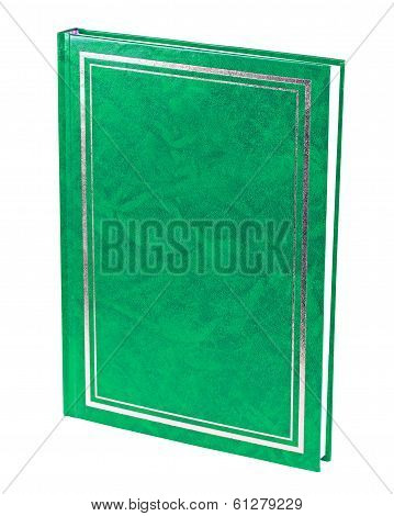 Green Book Standing Isolated