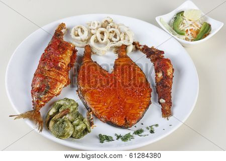 Seafood Platter from Goa, India