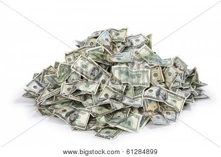 Pile of US money