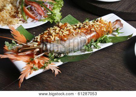 Galdi chingri chiney kabab - Stuffed Jumbo Prawn