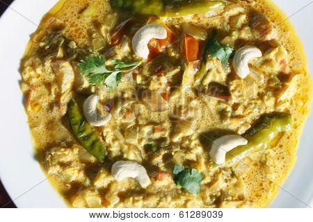 Malai Korma - A Gravy Made From Cream