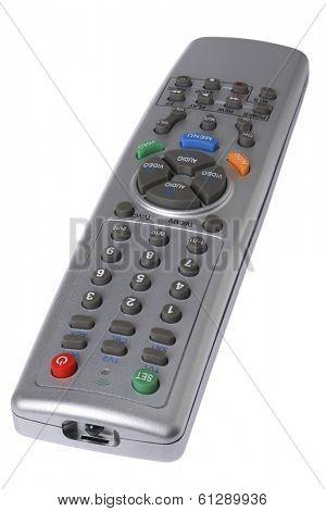 remote control on white