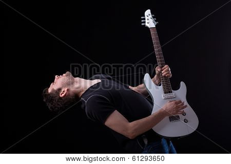 Professional Guitar Player