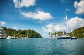 pic of west indies  - Marigot Bay - JPG
