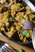 Pasinde - a meat dish from India