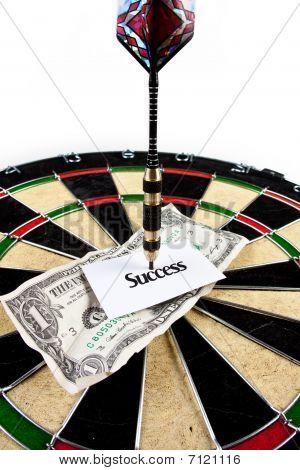 Bullseye business concept