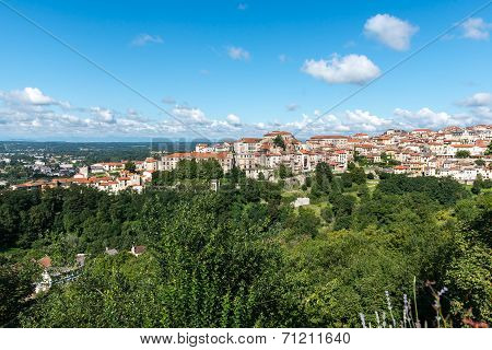 City Of Thiers, Department Of Puy-de-dome (france)