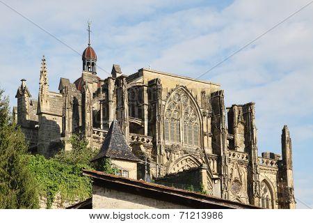 The abbey of Saint-Antoine l'Abbaye