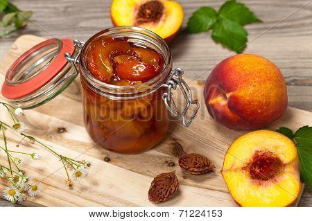 Peach or Nectarine Jam