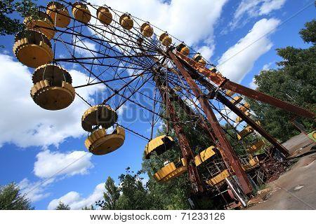 Abandoned Ferris Wheel, Pripyat, Chernobyl