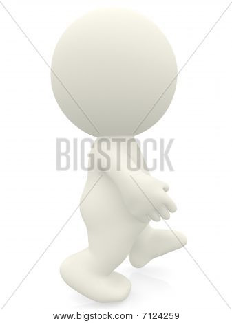 3D Person Walking