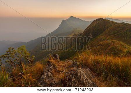 Doi Pha Tung,chiangrai Province ,north Of Thailand.