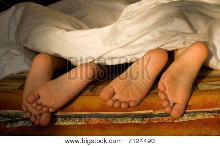 sisters feet