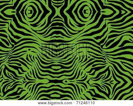 Zebra (green)