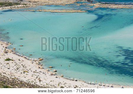 Balos Lagoon In Crete, Greece