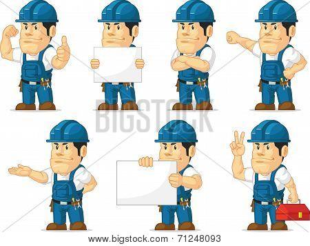 Strong Technician Mascot 11