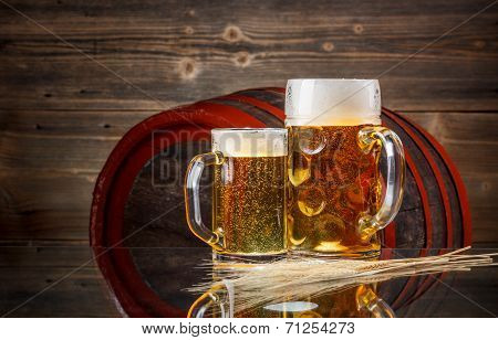 Still Life Of Beer
