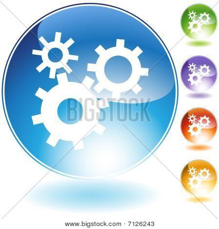 Machine Wheel Icon