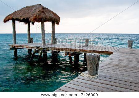 Caribbean Cabana on Pier