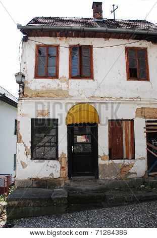 Derelict Building In Jajce