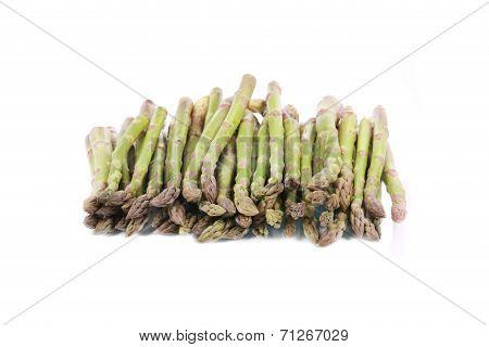 Close up of asparagus.