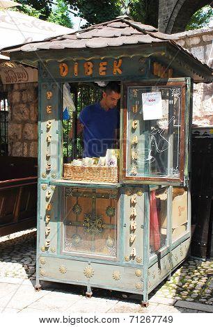 Coffee Grinder In Bascarsija