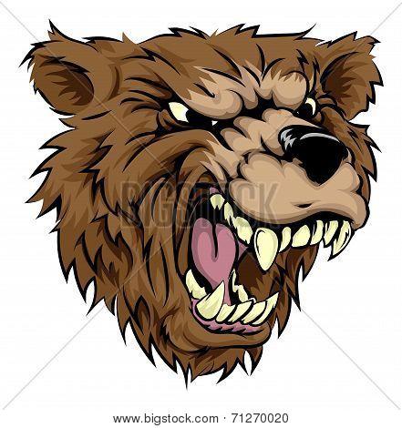 Bear Mascot Character