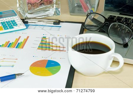 Business Documents Laptop