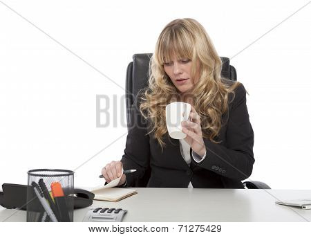 Hardworking Young Businesswoman