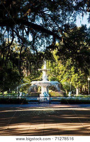 Forsyth Park, Savannah Georgia