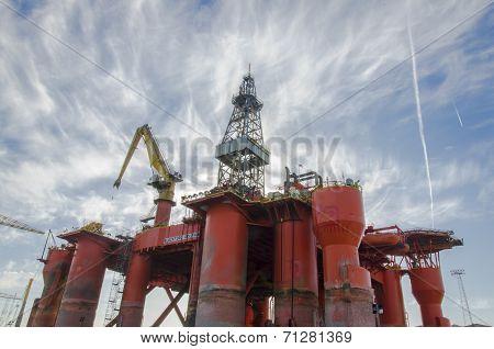 Blackford Dolphin Oil Rig