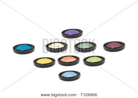 Make-up Eyeshadows Isolated
