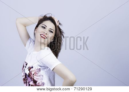 Urban fashion girl