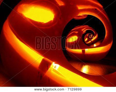 Crazy Haloween Pumpkin