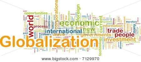 Globalization Wordcloud