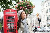 foto of phone-booth  - People in London - JPG