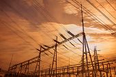 pic of substation  - Electrical substation in China - JPG