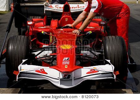 Ferrari F60 F1 Car At Goodwood Festival Of Speed