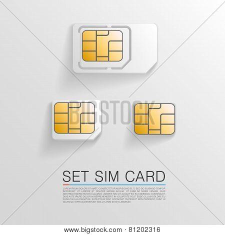 Set sim card