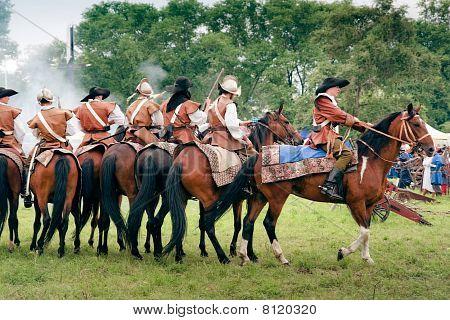 Reiters On Horses
