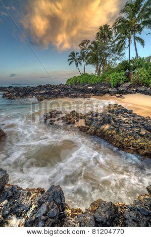 Sunrise at Secret Cove Makena