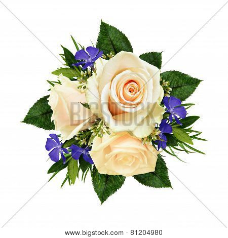 Roses And Wild Flowers Bouquet