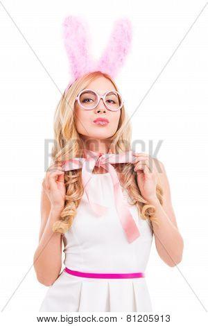 Playful Bunny.
